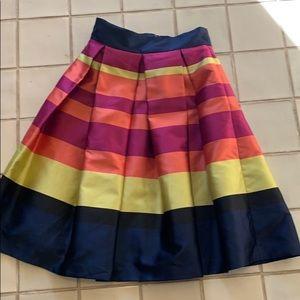 Moulinette Soeurs Striped Pleated skirt 12